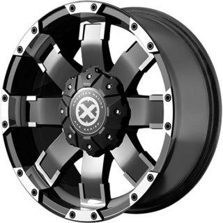 17x9 Black Wheel American Racing ATX AX191 5x4 5 5x5