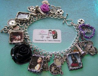 Amy Lee Picture Evanescence Charm Bracelet