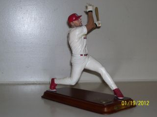 Albert Pujols Danbury Mint Figurine Figure Statue Sculpture Super RARE