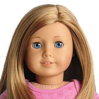 NEW American Girl MYAG 18 Doll GT39 Caramel Blond Hair Blue Eyes