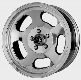 AMERICAN RACING ANSEN SPRINT SLOTTED VNA69 POLISHED WHEELS 5 LUG FORD