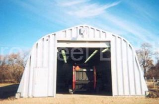 Duro Steel A40x50x18 Metal Buildings DiRECT Storage Garage Trailer