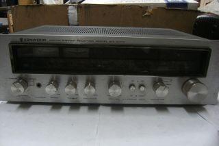 Vintage Kenwood Am FM Stereo Receiver KR 4070