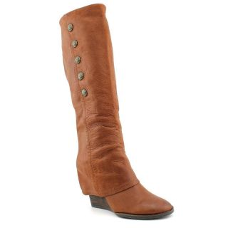 Vince Camuto Almay Womens Size 8 Brown Leather Fashion Knee High Boots