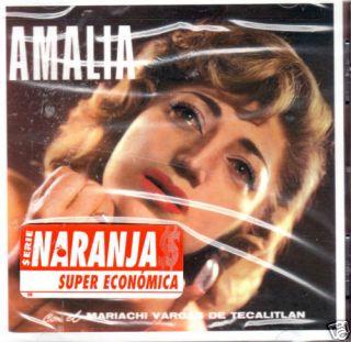 Amalia Mendoza Con El Mariachi Vargas de Tecalitlan CD
