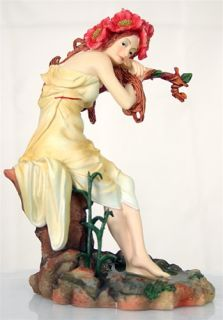Alphonse Mucha Summer Statue Figurine Sculpture Art
