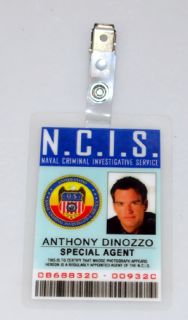 NCIS TV Series ID Badge Special Agent Anthony Dinozzo