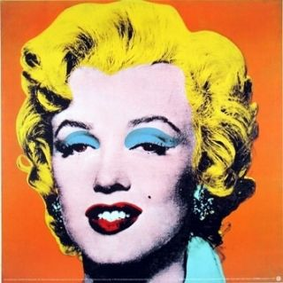 Andy Warhol Canvas Art Painting Marilyn Monroe