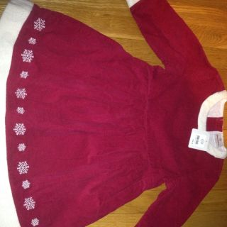 Hanna Andersson Girls Holiday Dress Size 100 Retail $48