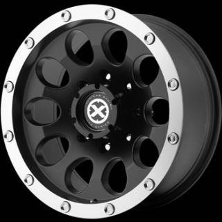 17x8 Black Wheel American Racing ATX Slot 5x5 5