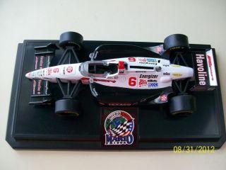 Mario Andretti Cie Cast Indy Car Bank