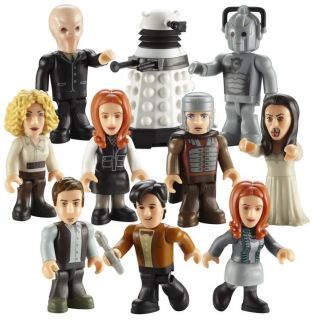 Dr Doctor Who Series 2 Character Building Micro Figure Set of 10