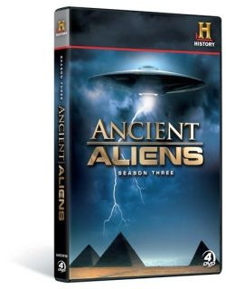 History Ancient Aliens Complete Season 3 DVD 4pk New