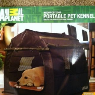 Animal Planet Portable Pet Kennel Indoor Outdoor Puppy Dog Tent