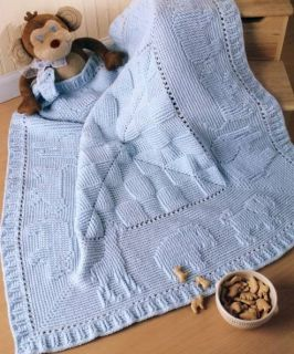 12 Crochet Baby Afghan Blanket Patterns Animals Hearts Ripple Book