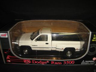 Anson Dodge Ram 3500 Dually Pickup Truck New In Box 1 18 Scale Diecast
