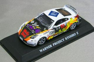 KYOSHO 1/43NISSAN Fairlady Z33 WARNER PROJECT Z Wacky Races