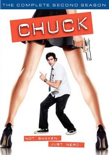 Chuck The Complete Second Season DVD, 2010, 6 Disc Set