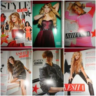 Seventeen Victoria Justice Taylor Swift Rihanna Justin Bieber Katy