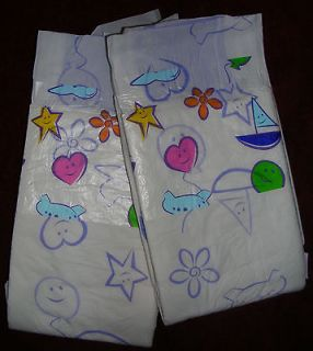 Diaper Sample Pack of ABU Cushies   LARGE Size   ABDL adult baby