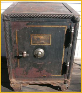 Antique Safe Sargent Greenleaf Lock Old 1800s Mosler
