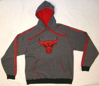 Chicago Bulls hoodie sweatshirt shirt official NBA basketball adidas