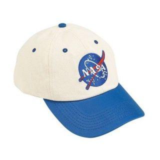 NASA Flight White & Blue Child Costume Cap / Hat  Aeromax FS CAP