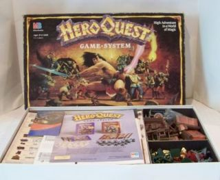 Heroquest Game System Board Game Excellent Condition
