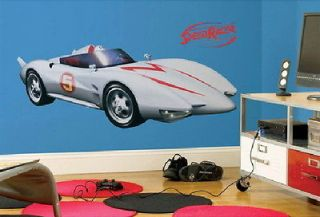 Speed Racer Mach 5 Giant Wall Sticker Decal Applique NEW SEALED