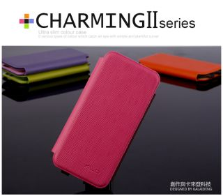 Ultra Slim Color Flip PU Leather Case Cover for Apple iPhone 5
