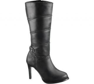 Harley Davidson Anya Womens Leather High Heel Biker Boot Shoes All