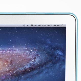 Aqua Blue Crystal Hard Case Cover for New Macbook Air (11 inches)