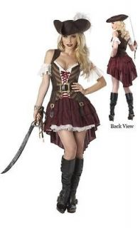 NEW Pirate Wench TEEN Costume Buccaneer Caribbean Maiden Sexy Female