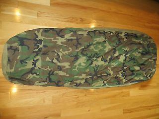 MILITARY GORE TEX WOODLAND CAMO BIVY~EXCELLENT COND~SLEEPING BAG