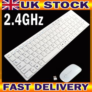 Keyboard and Mouse Set for Apple Mac PC Laptop Nano USB