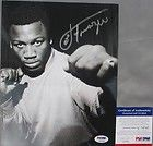 Boxing Glove signed by Muhammad Ali Ken Norton Larry Holmes and Joe