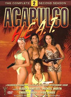 Acapulco H.E.A.T.   The Complete Second Season DVD, 2006, 6 Disc Set
