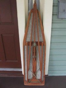 Vintage Antique Primitive Ironing Board Wood and Some Sort Of