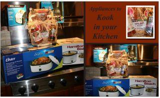 Assorted Kitchen Appliances Holiday Gift Basket