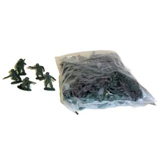 pack of green plastic mini army men toy soldiers stock rtd 2466