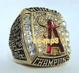 2002 MLB Anaheim Angels World Series Championship Champions Ring