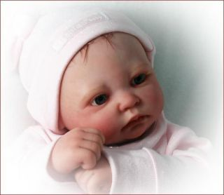 Secrist Preemie Baby Missy Reborn Doll Kit Plus Paints and Brushes