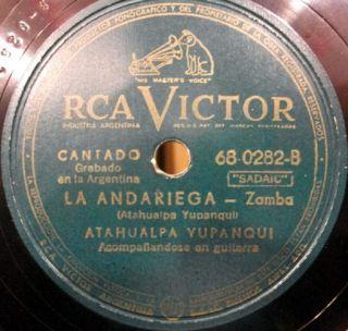 ATAHUALPA YUPANQUI CAMINO DEL INDIO & LA ANDARIEGA RARE ARGENTINA FOLK