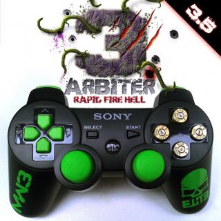 Arbiter 3 5 Elite Rapid Fire Hell Playstation PS3 Controller COD MW3