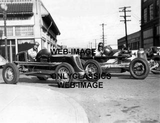 36 Frank Kurtis Auto Racing Car Portland or Photo Indy