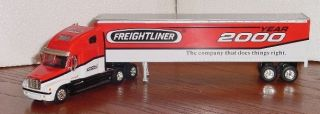 Liberty Classics Freightliner 2000 Tractor Trailer Are Die Cast Rubber