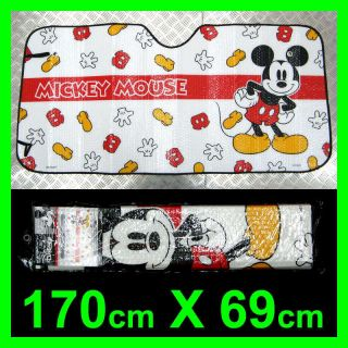 New Mickey Mouse Car Sun Shade Windshield Cover Z30