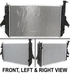 Radiator Chevy Plastic Chevrolet Astro 97 96 GMC Safari Parts Auto Car