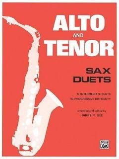 Alto and Tenor Sax Duets (1985, Paperbac