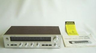 vintage realistic sta 450 am fm stereo receiver time left
